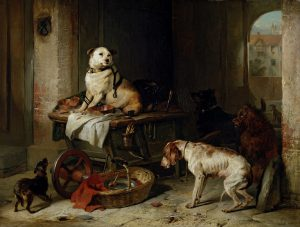 Famous-Dog-portrait-painting-A-Jack-in-Office